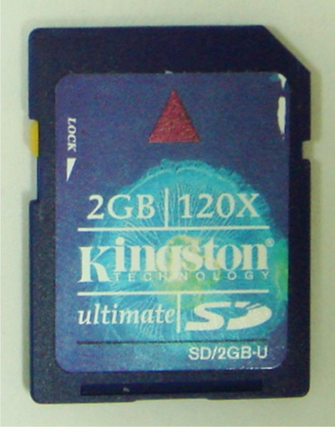 kingston 120X card