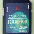 kingston 120X card