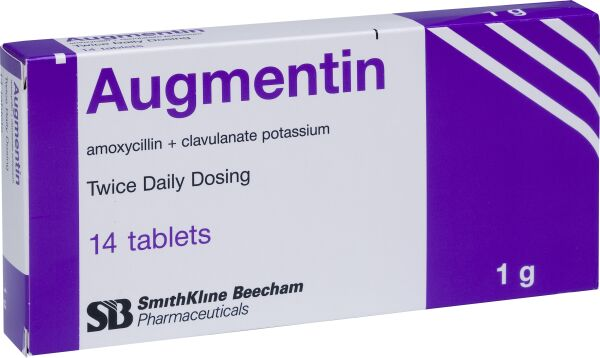 Augmentin Tablet (1g) 01