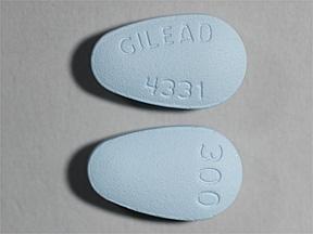 Viread (tenofovir disoproxil) 300 mg