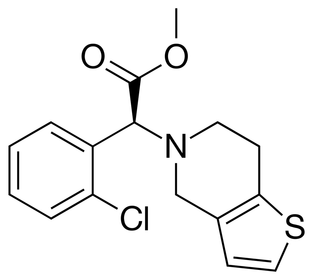 1145px-Clopidogrel_skeletal_formula.png