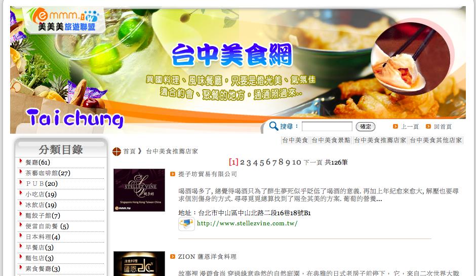 台中美食網