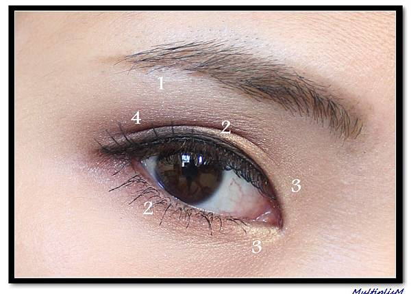 GUCCI EYESHADOW QUAD crystal copper 2look.jpg