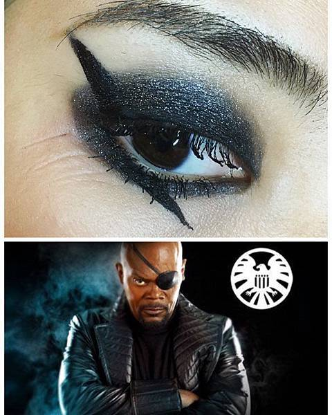 avengers inspired makeup shield nick fury.jpg