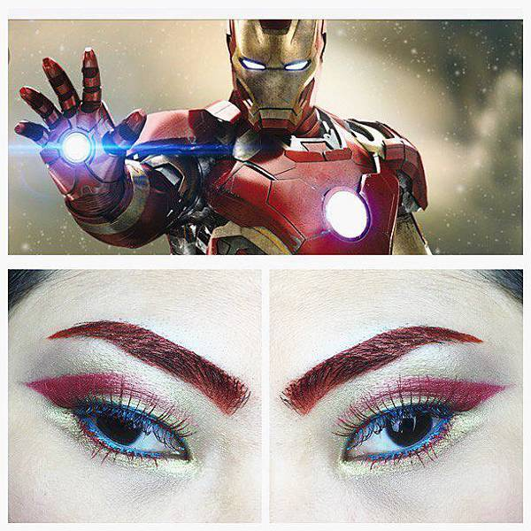 avengers inspired makeup iron man.jpg