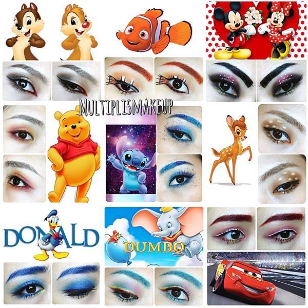 disney characters inspired eye makeup.JPG