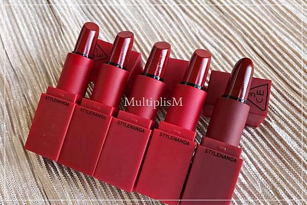 3CE Stylenanda RED Recipe set.jpg