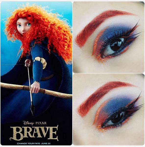 disney princess eye makeup Brave Merida.jpg