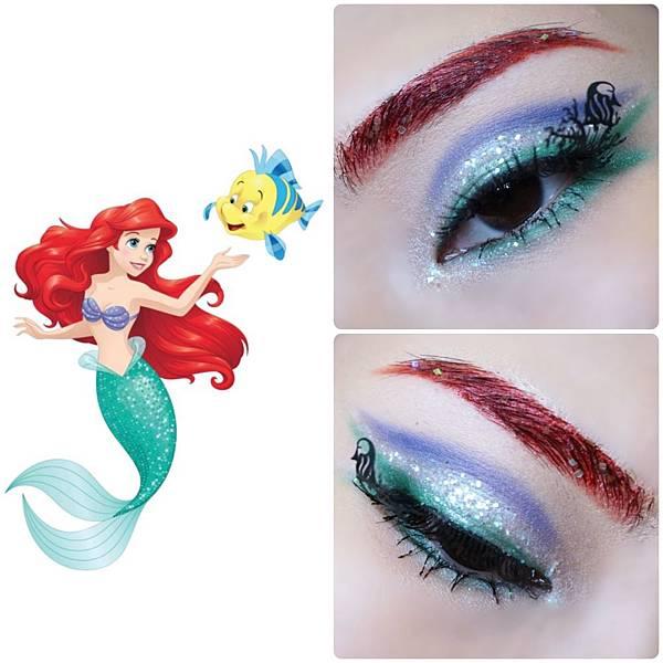 disney princess eye makeup little mermaid Ariel.jpg