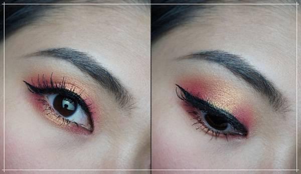 huda beauty obsessions eyeshadow coral eye makeup.jpg