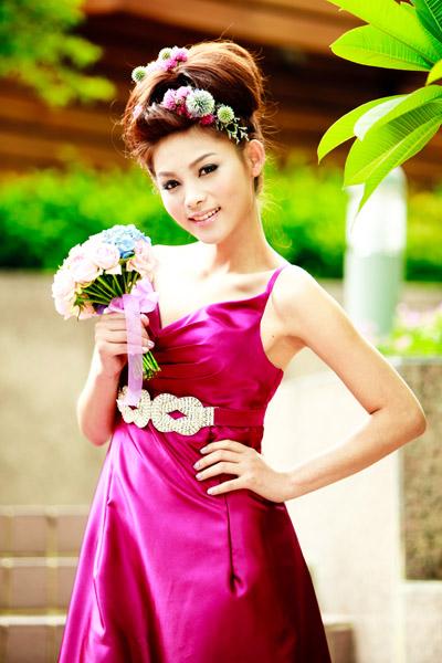 凱鈞的新娘造型設計