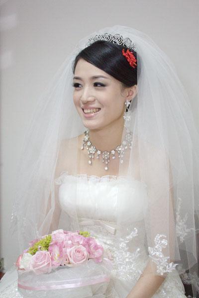 惠如結婚造型