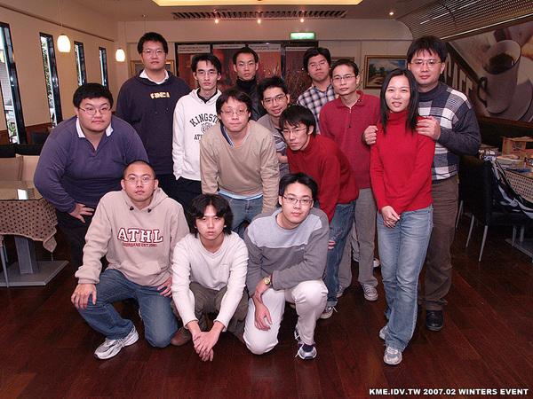 2007二月份龍城中部網聚