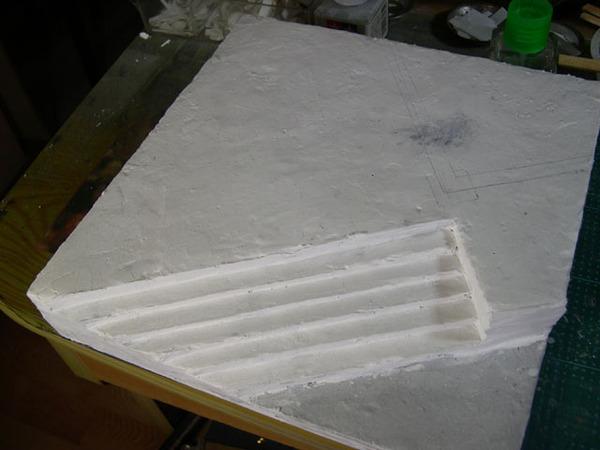 13石膏鋪地板