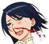 佳奈子噴鼻血