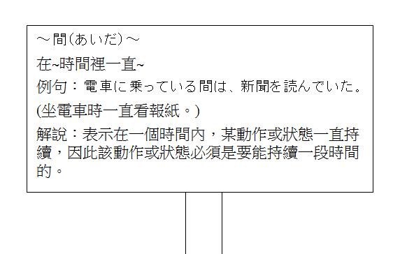 日文句型在時間裡一直2
