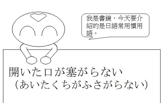 日文慣用語嚇得目瞪口呆1