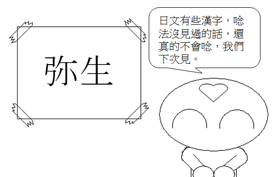 日文單字弥生3
