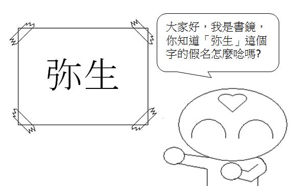 日文單字弥生1