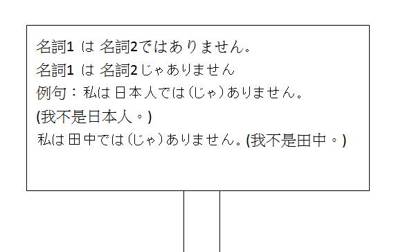 日文句型不是4