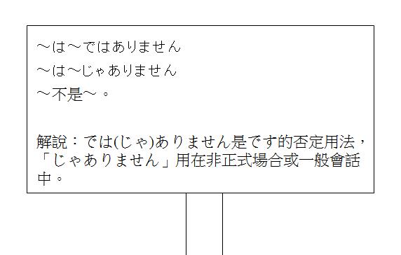 日文句型不是2