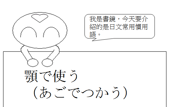 日文慣用語頤指氣使1