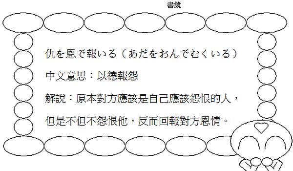 日文諺語以德報怨