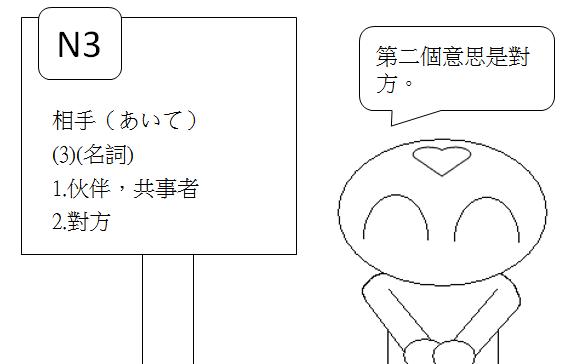 日文N3相手5