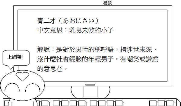 日文諺語青二才