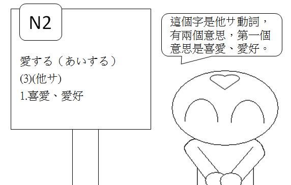 日文N2喜好愛慕2