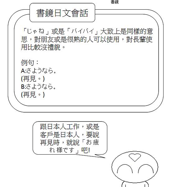 日文會話再見2