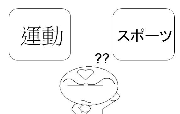 日文類義語運動
