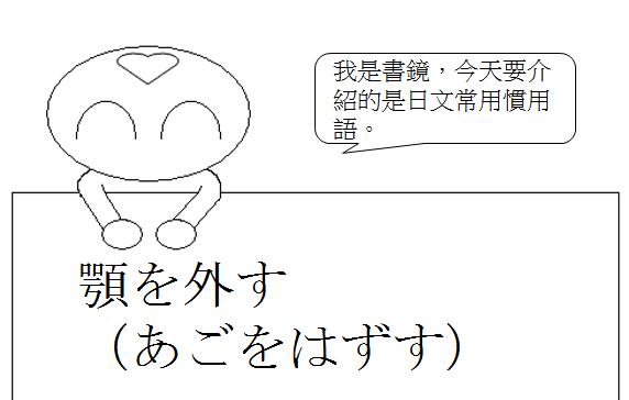 日文慣用語捧腹大笑1