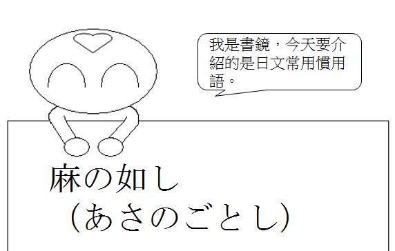 日文慣用語形容非常亂1