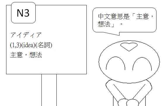日文N3主意想法3