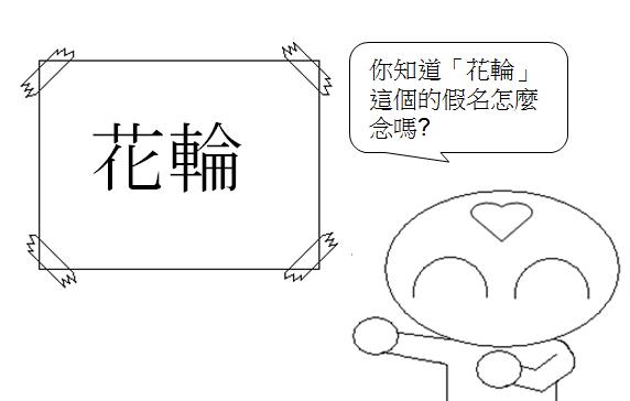日文單字花輪2