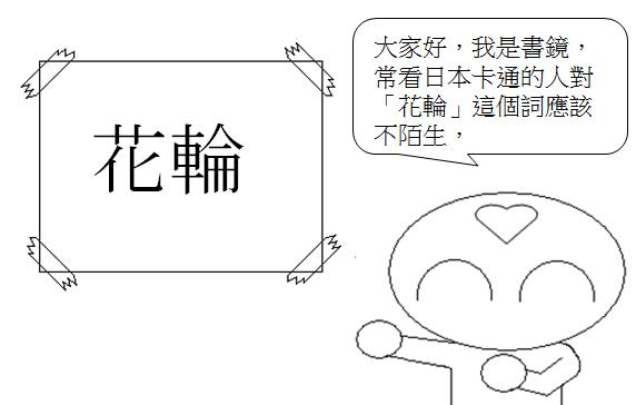 日文單字花輪1