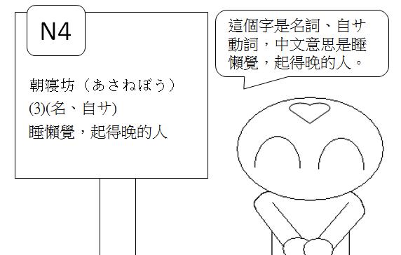 日文N4睡懶覺2