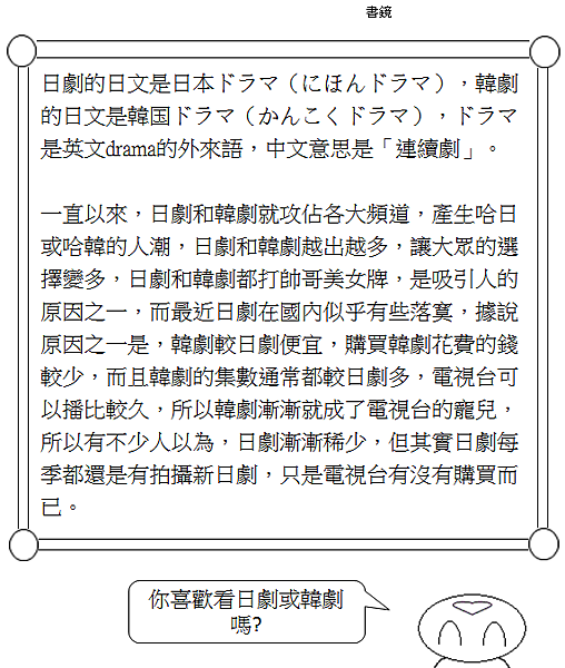 生活日文日劇韓劇