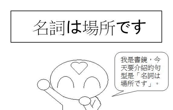 日文句型表示某物體某地方某人存在的場所1