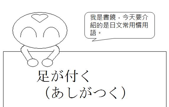 日文慣用語-有了犯人的蹤跡1