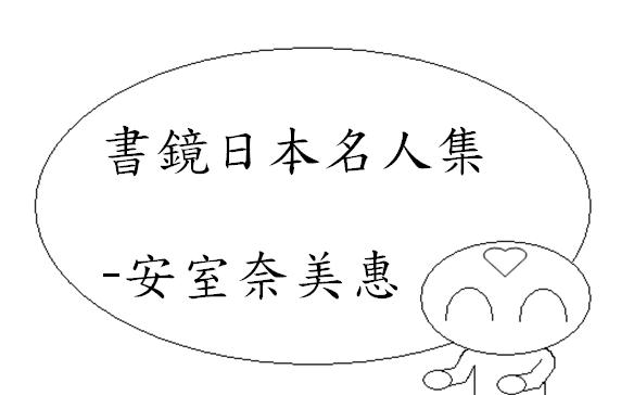 日本名人集安室奈美惠1