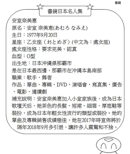 日本名人集安室奈美惠2