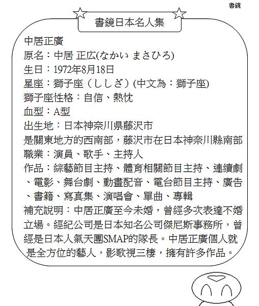 日本名人集中居正廣2