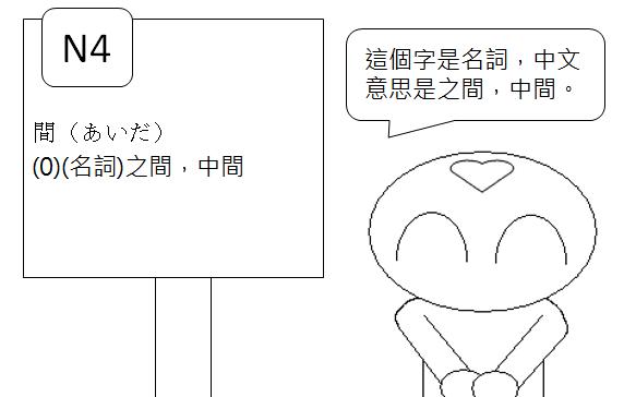 日文檢定N4之間中間2