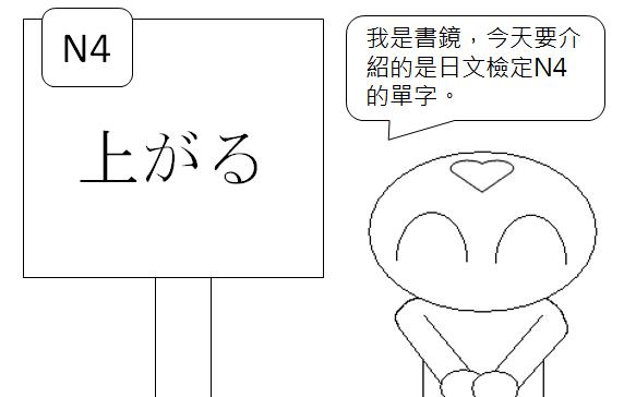 日文檢定N4單字上升升高1