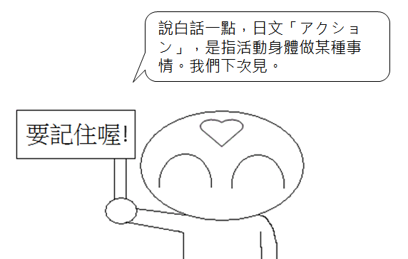 日文檢定N3單字動作行動4