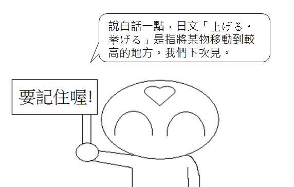 日文檢定N5單字舉起4
