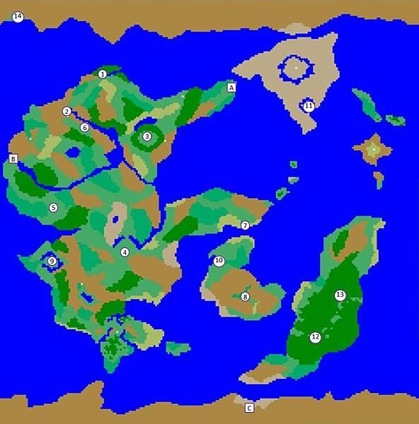 Tenmilli RPG世界地圖1