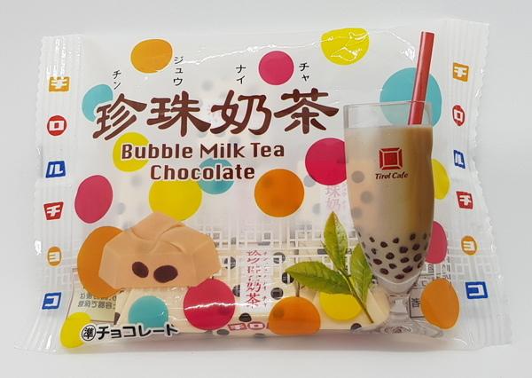 滋露珍珠奶茶巧克力日文正面